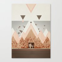 The Holidays Canvas Print