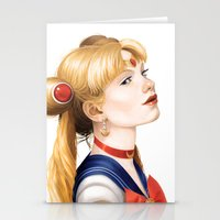 In The Name Of The Moon Stationery Cards