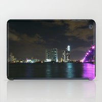 Miami Night Skyline iPad Case