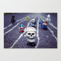Death FTW Canvas Print