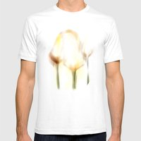 Three Tulips Mens Fitted Tee White SMALL
