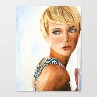 The Model Canvas Print