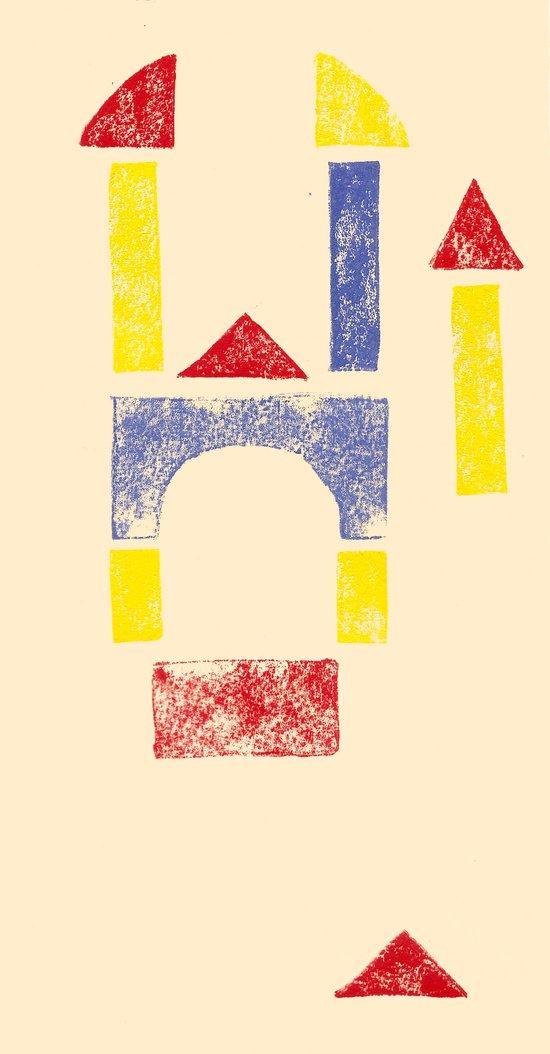 Blockitecture Two Art Print