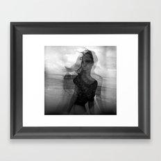 Eye Sea Framed Art Print