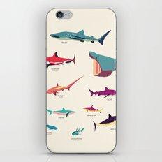 Sharks iPhone & iPod Skin