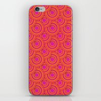 Tropical Parasols Pattern iPhone & iPod Skin