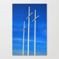 Bellevue Crosses Canvas Print