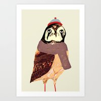 The Falcon Art Print