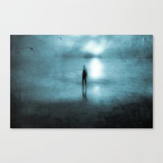 Head Above Water Canvas Print