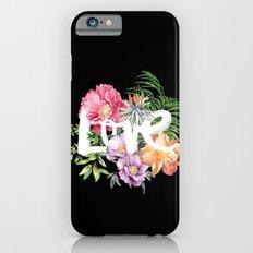 Love is Black iPhone 6 Slim Case
