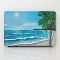 Tropical Beach iPad Case