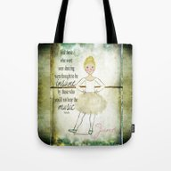 Personalized Dance Music… Tote Bag