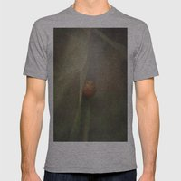 The Shy Snail Mens Fitted Tee Athletic Grey SMALL