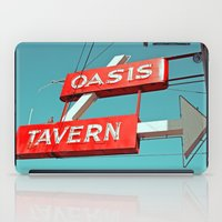 Oasis Sign iPad Case