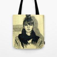 Fashion sketch Tote Bag