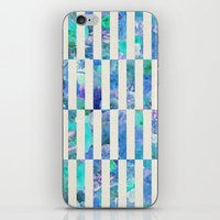 FLORAL ORDER iPhone & iPod Skin
