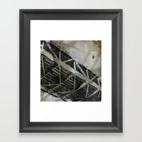 Bay Bridge Deck  Framed Art Print