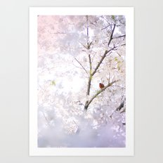 Water-colour Spring #2 Art Print