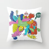 Ooh!! Fuck Throw Pillow