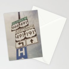 Old route... new route Stationery Cards