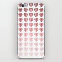 Heart Gradient iPhone & iPod Skin