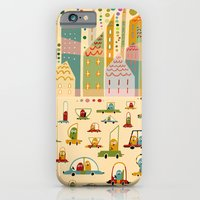 iPhone & iPod Case featuring Racers by Asja Boros