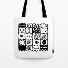 I am a pattern, pattern Tote Bag