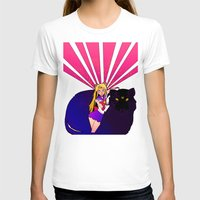 sailor moon T-shirts featuring SAILOR MOON by SMOKESINATRA