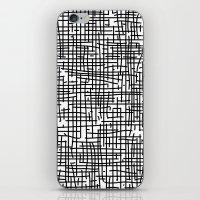 Crosshatch iPhone & iPod Skin