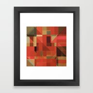 Framed Art Print featuring For Pillows And Bags by Fernando Vieira