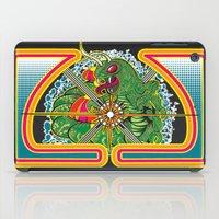 Classic Centipede Woodcut iPad Case