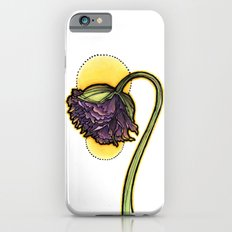 Purple Poppy Slim Case iPhone 6s
