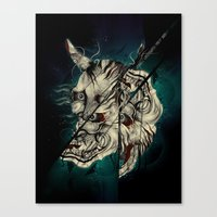 The Hanyas Canvas Print