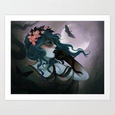 Nine  Art Print