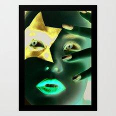 Kiss Paul Art Print