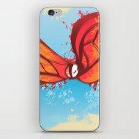 Digital Butterfly iPhone & iPod Skin