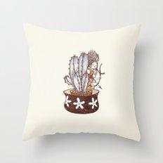 Useful Cactus Throw Pillow