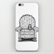 iPhone & iPod Skin featuring Big Chair by Laurie A. Conley