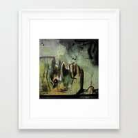 Despairage Framed Art Print