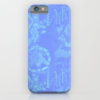 Periwinkle Abstract iPhone 6 Slim Case