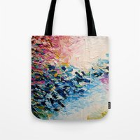 PARADISE DREAMING Colorf… Tote Bag
