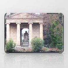 Reflection at Villa Borghese. iPad Case