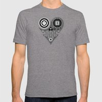 UL Mens Fitted Tee Tri-Grey SMALL