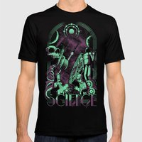 Science Mens Fitted Tee Black SMALL