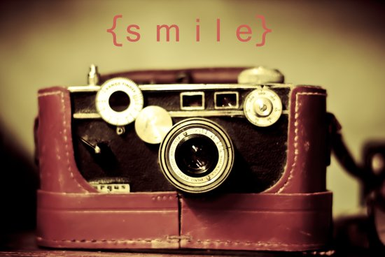 {smile} Art Print