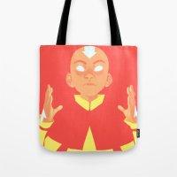 Avatar Aang Tote Bag