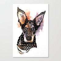 Lexy Canvas Print