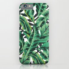 Tropical Glam Banana Leaf Print iPhone 6 Slim Case