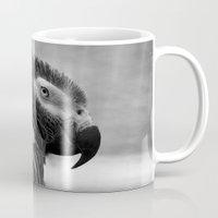 Grey Parrot Mug