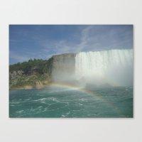 Rainbows of Niagara Falls Canvas Print